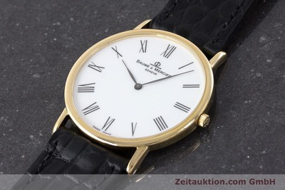 BAUME & MERCIER 18 CT GOLD QUARTZ KAL. ETA 210.001 [161288]