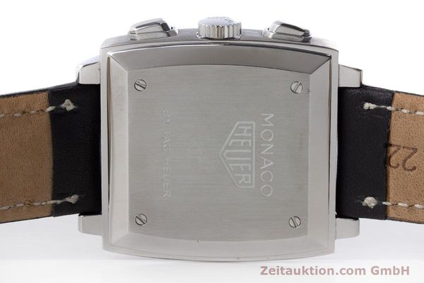 Used luxury watch Tag Heuer Monaco chronograph steel automatic Kal. ETA 2894-2 Ref. CS2111  | 161290 09