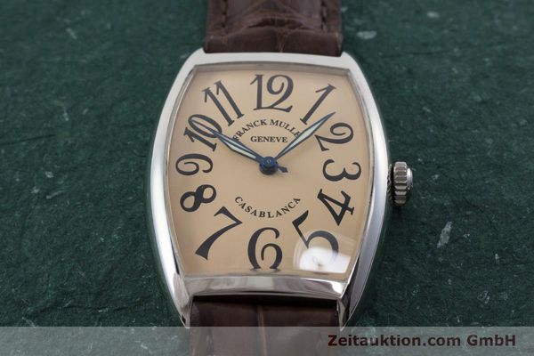 Used luxury watch Franck Muller Casablanca steel automatic Kal. 2800 Ref. 2852  | 161293 13