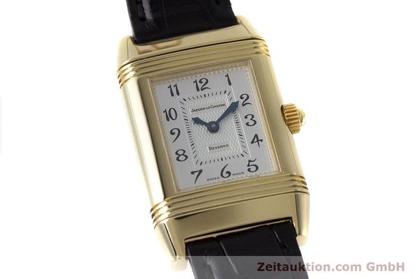 Used luxury watch Jaeger Le Coultre Reverso 18 ct gold manual winding Kal. 844 Ref. 266.1.44  | 161294 02