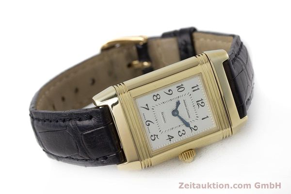 Used luxury watch Jaeger Le Coultre Reverso 18 ct gold manual winding Kal. 844 Ref. 266.1.44  | 161294 03