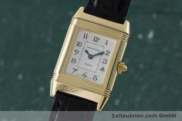 Used luxury watch Jaeger Le Coultre Reverso 18 ct gold manual winding Kal. 844 Ref. 266.1.44  | 161294 04