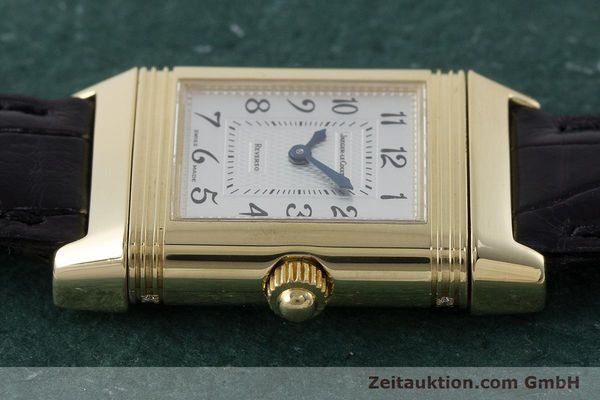 Used luxury watch Jaeger Le Coultre Reverso 18 ct gold manual winding Kal. 844 Ref. 266.1.44  | 161294 05