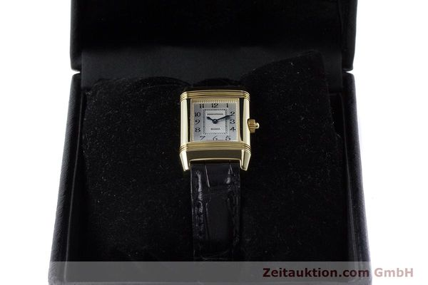 Used luxury watch Jaeger Le Coultre Reverso 18 ct gold manual winding Kal. 844 Ref. 266.1.44  | 161294 07