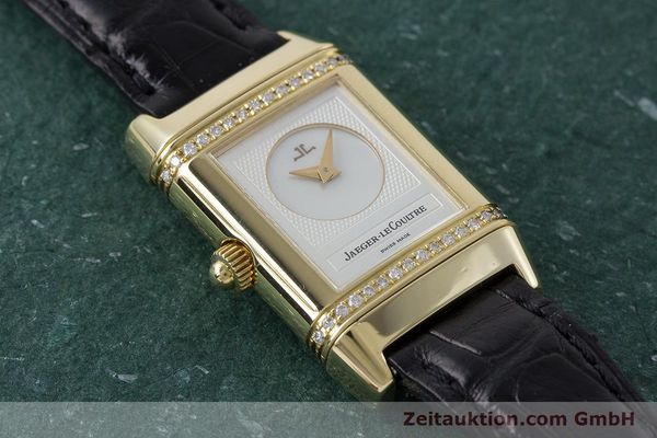 Used luxury watch Jaeger Le Coultre Reverso 18 ct gold manual winding Kal. 844 Ref. 266.1.44  | 161294 11