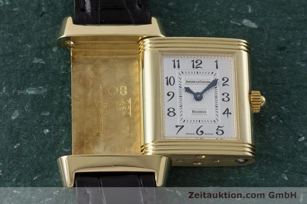 Used luxury watch Jaeger Le Coultre Reverso 18 ct gold manual winding Kal. 844 Ref. 266.1.44  | 161294 12