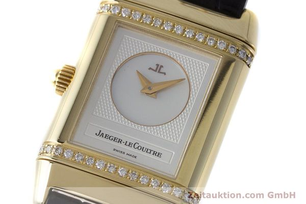 Used luxury watch Jaeger Le Coultre Reverso 18 ct gold manual winding Kal. 844 Ref. 266.1.44  | 161294 13