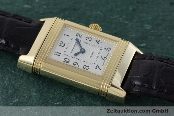 Used luxury watch Jaeger Le Coultre Reverso 18 ct gold manual winding Kal. 844 Ref. 266.1.44  | 161294 14