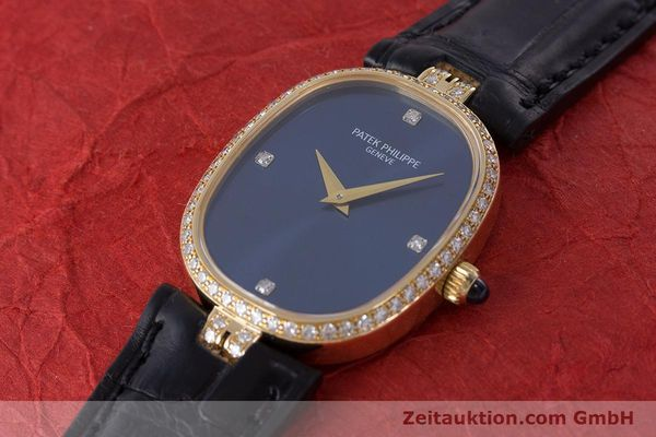 Used luxury watch Patek Philippe Ellipse 18 ct gold manual winding Kal. 16-250 Ref. 4882  | 161295 01