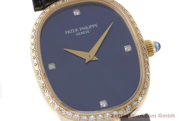 Used luxury watch Patek Philippe Ellipse 18 ct gold manual winding Kal. 16-250 Ref. 4882  | 161295 02