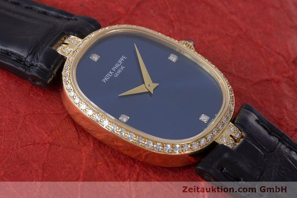 Used luxury watch Patek Philippe Ellipse 18 ct gold manual winding Kal. 16-250 Ref. 4882  | 161295 13