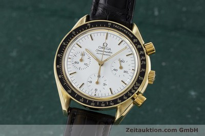 OMEGA SPEEDMASTER CHRONOGRAPHE OR 18 CT AUTOMATIQUE KAL. ETA 2890-2 LP: 14200EUR [161297]