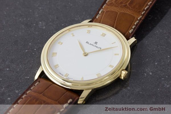 Used luxury watch Blancpain Villeret 18 ct gold manual winding Kal. 21  | 161298 01