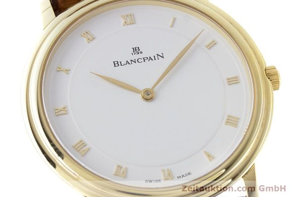 Used luxury watch Blancpain Villeret 18 ct gold manual winding Kal. 21  | 161298 02
