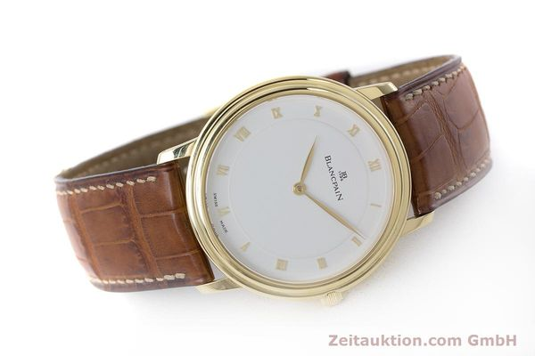Used luxury watch Blancpain Villeret 18 ct gold manual winding Kal. 21  | 161298 03