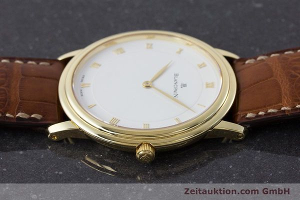 Used luxury watch Blancpain Villeret 18 ct gold manual winding Kal. 21  | 161298 05