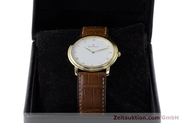 Used luxury watch Blancpain Villeret 18 ct gold manual winding Kal. 21  | 161298 07