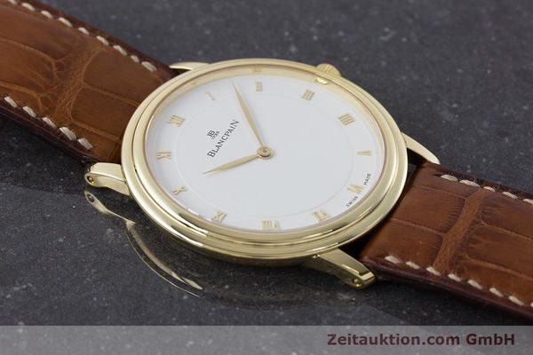 Used luxury watch Blancpain Villeret 18 ct gold manual winding Kal. 21  | 161298 14