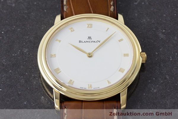 Used luxury watch Blancpain Villeret 18 ct gold manual winding Kal. 21  | 161298 15