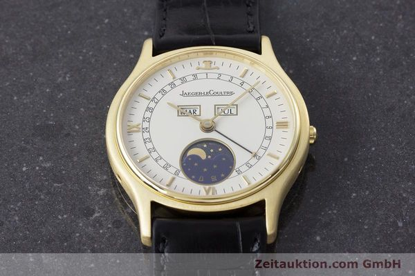 Used luxury watch Jaeger Le Coultre * 18 ct gold automatic Kal. 900 Ref. 141.119.1  | 161300 15