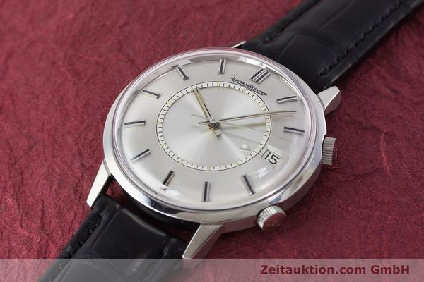 Used luxury watch Jaeger Le Coultre Memovox steel manual winding Kal. 911  | 161302 01