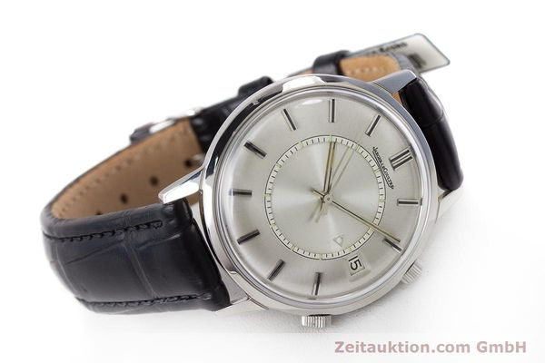 Used luxury watch Jaeger Le Coultre Memovox steel manual winding Kal. 911  | 161302 03