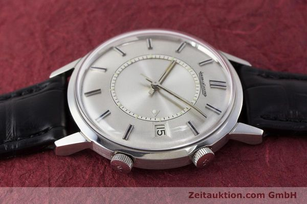 Used luxury watch Jaeger Le Coultre Memovox steel manual winding Kal. 911  | 161302 05