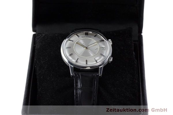 Used luxury watch Jaeger Le Coultre Memovox steel manual winding Kal. 911  | 161302 07
