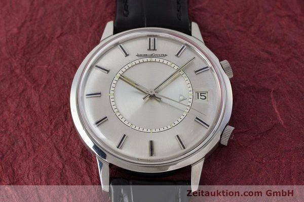 Used luxury watch Jaeger Le Coultre Memovox steel manual winding Kal. 911  | 161302 14
