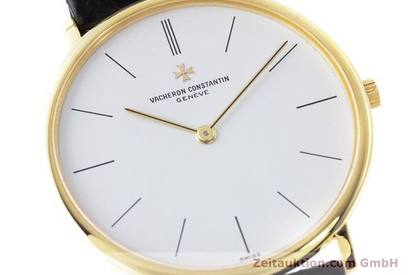 Used luxury watch Vacheron & Constantin * 18 ct gold manual winding Kal. 1003/1 Ref. 33060  | 161307 02
