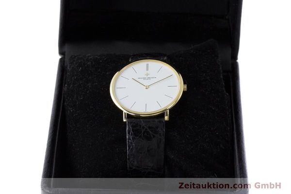 Used luxury watch Vacheron & Constantin * 18 ct gold manual winding Kal. 1003/1 Ref. 33060  | 161307 07