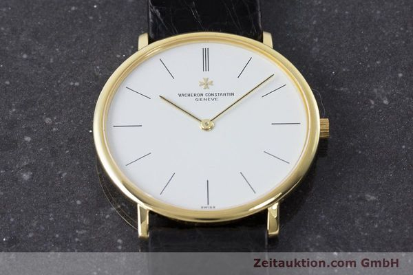 Used luxury watch Vacheron & Constantin * 18 ct gold manual winding Kal. 1003/1 Ref. 33060  | 161307 15