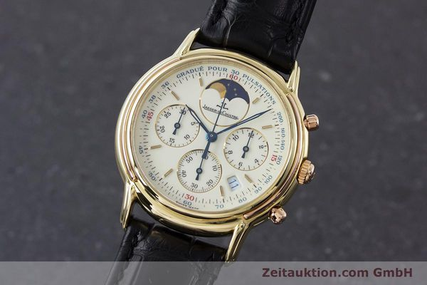 JAEGER LE COULTRE ODYSSEUS CHRONOGRAPHE OR 18 CT QUARTZ KAL. 630 [161308]