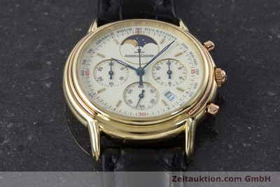 JAEGER LE COULTRE ODYSSEUS CHRONOGRAPH 18 CT GOLD QUARTZ KAL. 630 [161308]