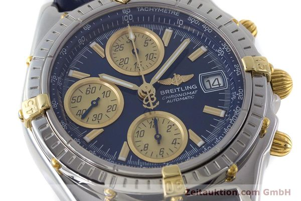 Used luxury watch Breitling Chronomat chronograph steel / gold automatic Kal. ETA 7750  | 161309 02