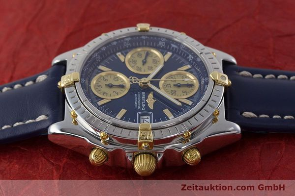 Used luxury watch Breitling Chronomat chronograph steel / gold automatic Kal. ETA 7750  | 161309 05