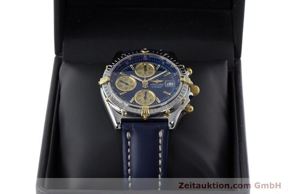 Used luxury watch Breitling Chronomat chronograph steel / gold automatic Kal. ETA 7750  | 161309 07