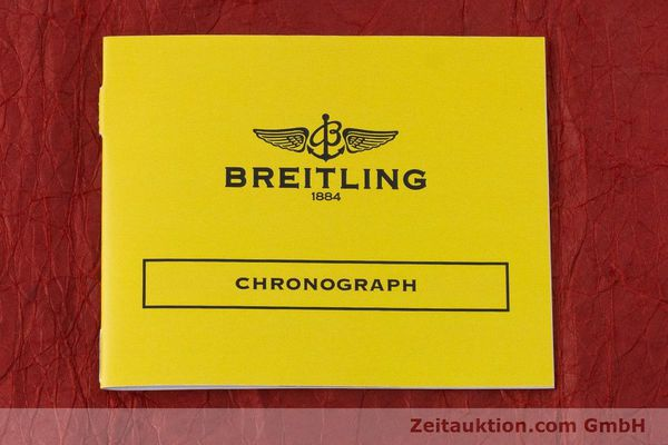 Used luxury watch Breitling Chronomat chronograph steel / gold automatic Kal. ETA 7750  | 161309 11