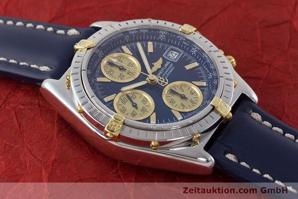 Used luxury watch Breitling Chronomat chronograph steel / gold automatic Kal. ETA 7750  | 161309 14