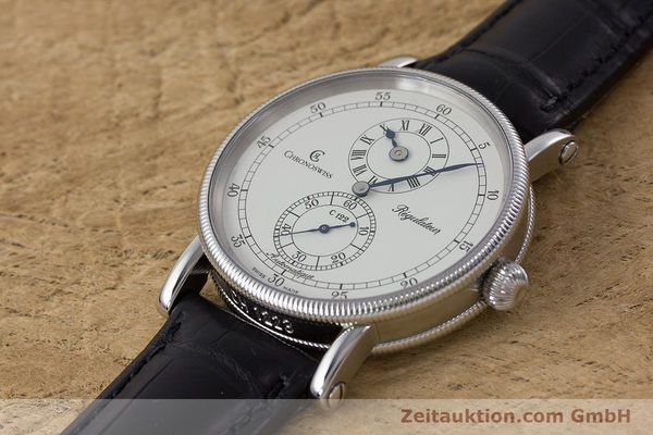 Used luxury watch Chronoswiss Regulateur steel automatic Kal. 122 Ref. CH1223  | 161312 01