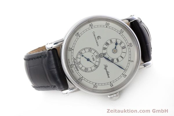 Used luxury watch Chronoswiss Regulateur steel automatic Kal. 122 Ref. CH1223  | 161312 03