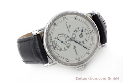 CHRONOSWISS REGULATEUR EDELSTAHL AUTOMATIK CH1223 GLASBODEN VP: 5200,- EURO [161312]