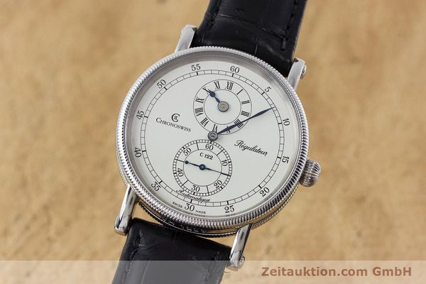 CHRONOSWISS REGULATEUR ACIER AUTOMATIQUE KAL. 122 LP: 5200EUR  [161312]