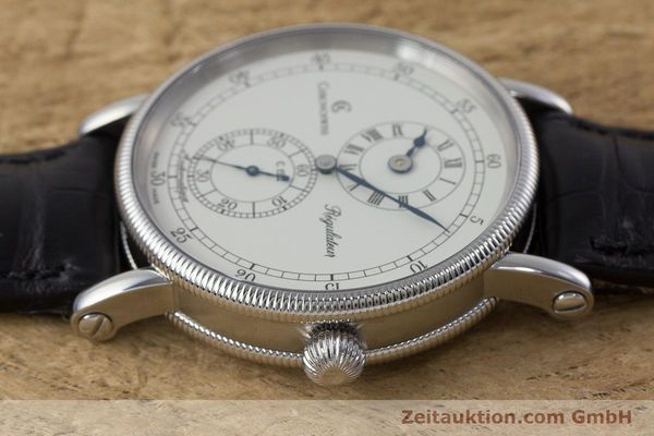 Used luxury watch Chronoswiss Regulateur steel automatic Kal. 122 Ref. CH1223  | 161312 05