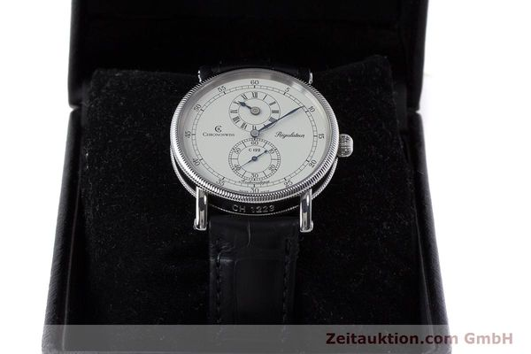 Used luxury watch Chronoswiss Regulateur steel automatic Kal. 122 Ref. CH1223  | 161312 07