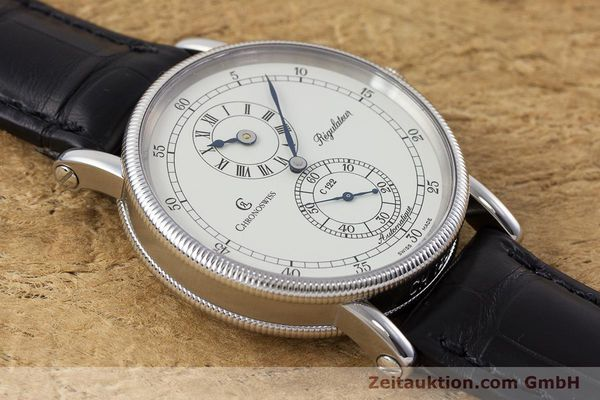 Used luxury watch Chronoswiss Regulateur steel automatic Kal. 122 Ref. CH1223  | 161312 14