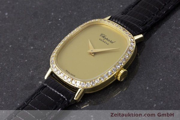 Used luxury watch Chopard * 18 ct gold manual winding Kal. 846 Ref. 5091  | 161314 01