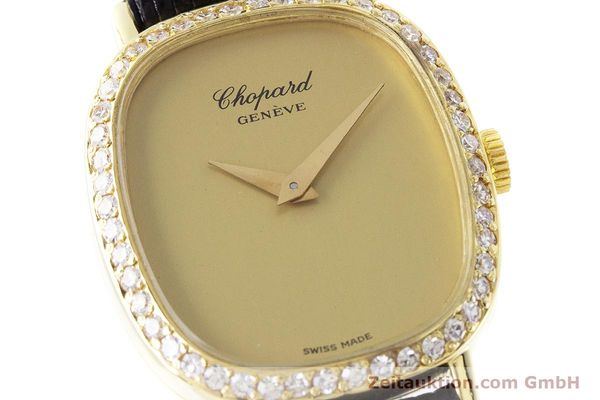 Used luxury watch Chopard * 18 ct gold manual winding Kal. 846 Ref. 5091  | 161314 02