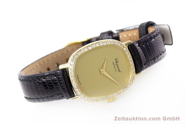 Used luxury watch Chopard * 18 ct gold manual winding Kal. 846 Ref. 5091  | 161314 03