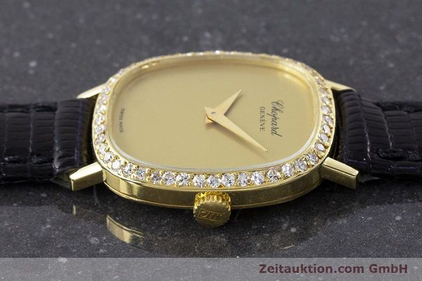 Used luxury watch Chopard * 18 ct gold manual winding Kal. 846 Ref. 5091  | 161314 05